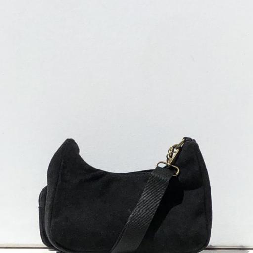 Bolso estilo Prada piel negro [2]