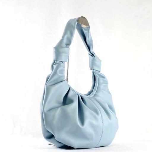 Bolso doble nudo azul [3]