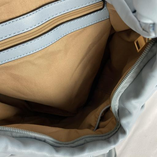 Bolso doble nudo azul [2]