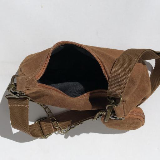 Bolso estilo Milán piel camel [3]