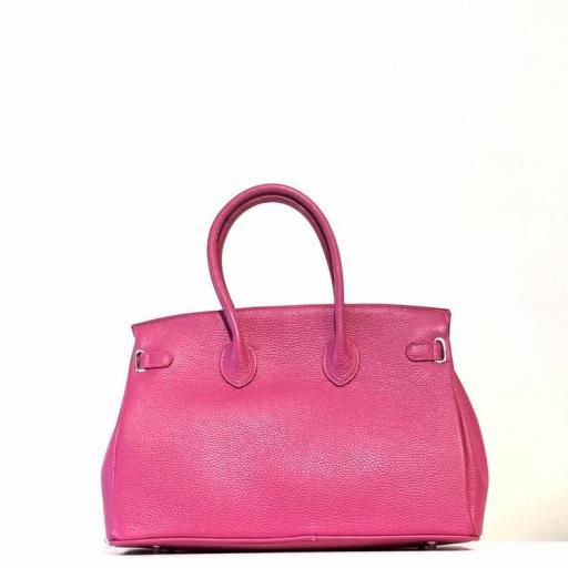 Handbag candado fucsia [2]