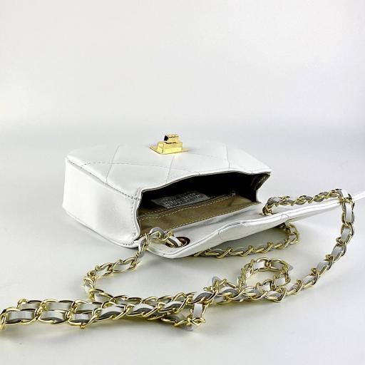 Bolso mini 19 acolch blanco [1]