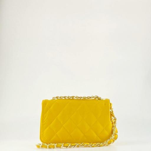 Bolso mini acolchado Amarillo [1]