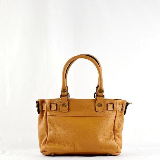 Handbag cremallera camel mini [2]