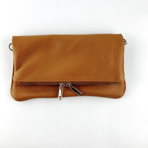 Cartera rock lisa camel