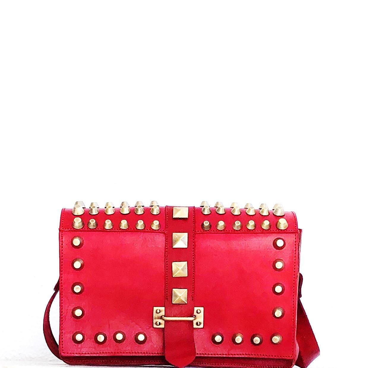 Bandol estilo Prada rojo