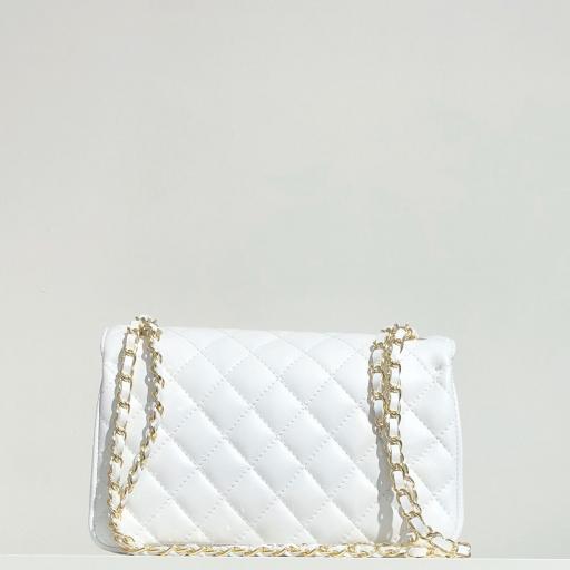 Bolso acolchado clasic blanco [3]