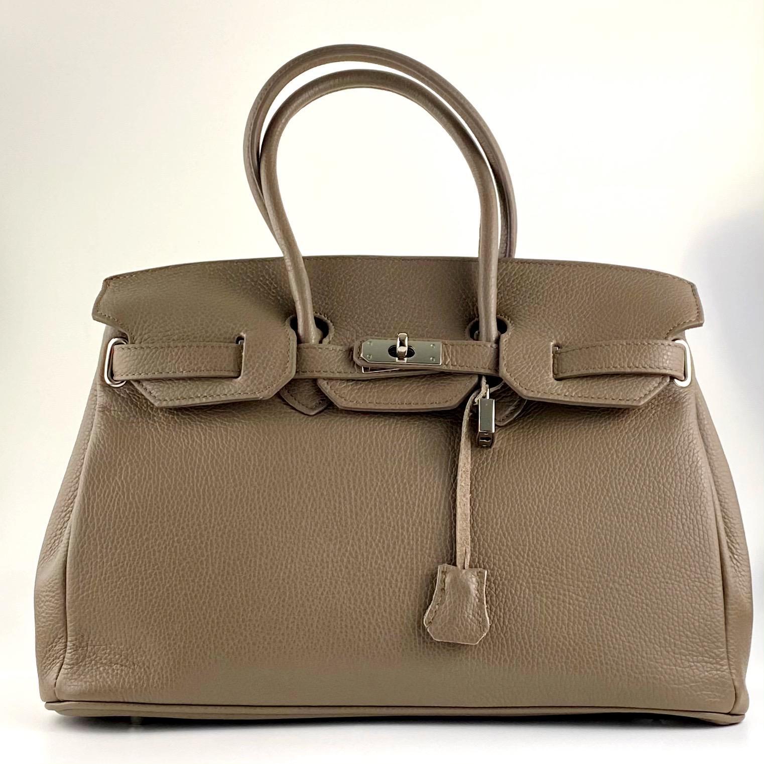 handbag candado tostado