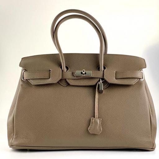 handbag candado tostado [0]