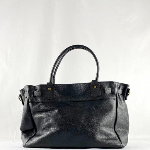Handbag cremallera negro [1]