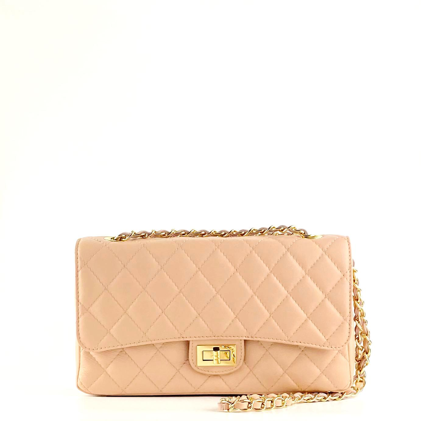 Bolso acolch clasic rosa maquillaje