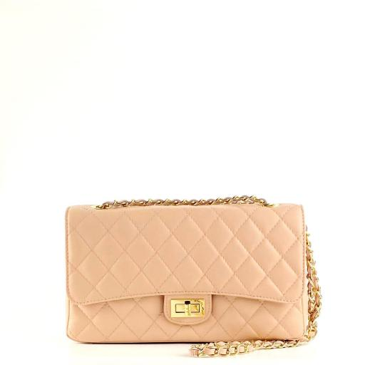 Bolso acolch clasic rosa maquillaje [0]