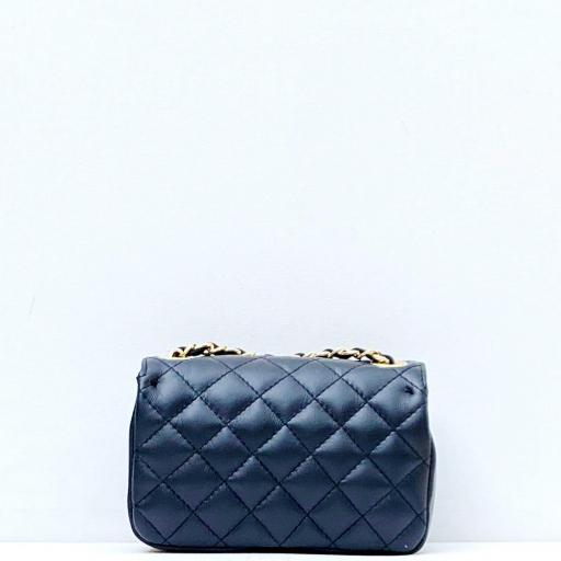 Bolso mini acolchado negro [2]
