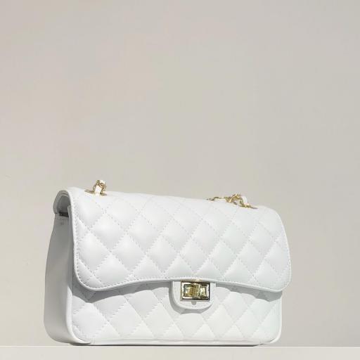 Bolso acolchado clasic blanco [2]