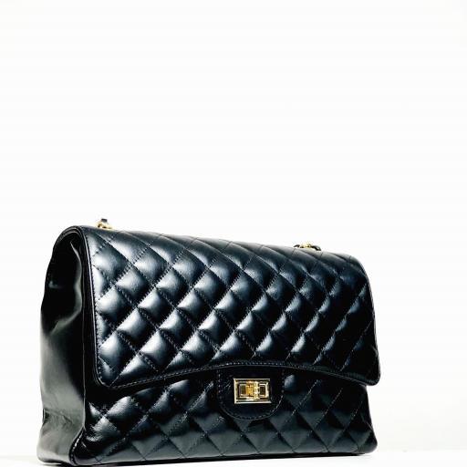 Bolso acolchado Maxi clasic negro [1]
