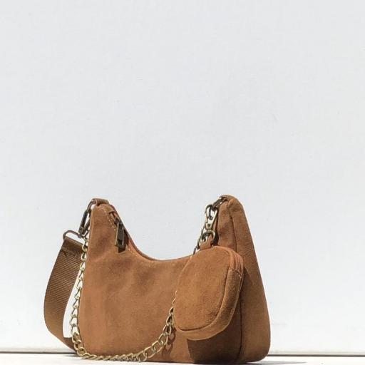 Bolso estilo Milán piel camel [1]