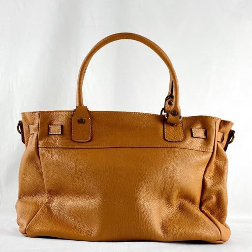Handbag cremallera camel [1]