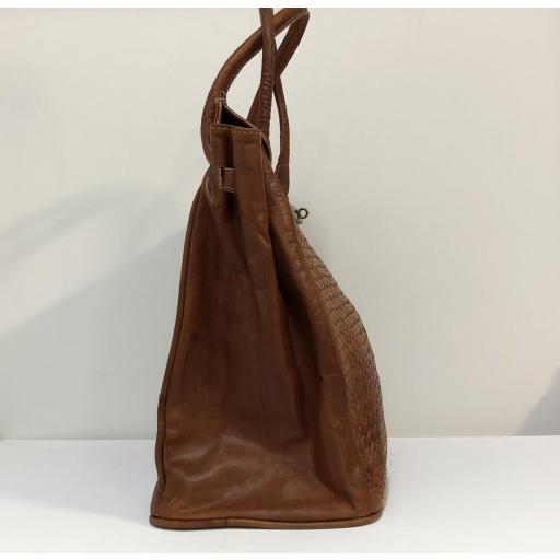 handbag candado cuero  midi [2]
