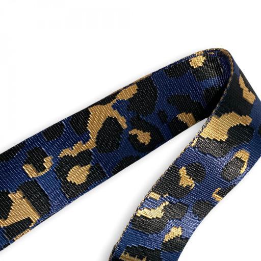 Correa animal print leopardo morado [1]