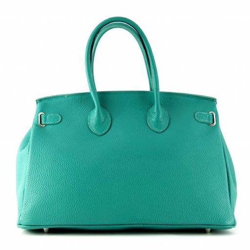 handbag candado turquesa [1]