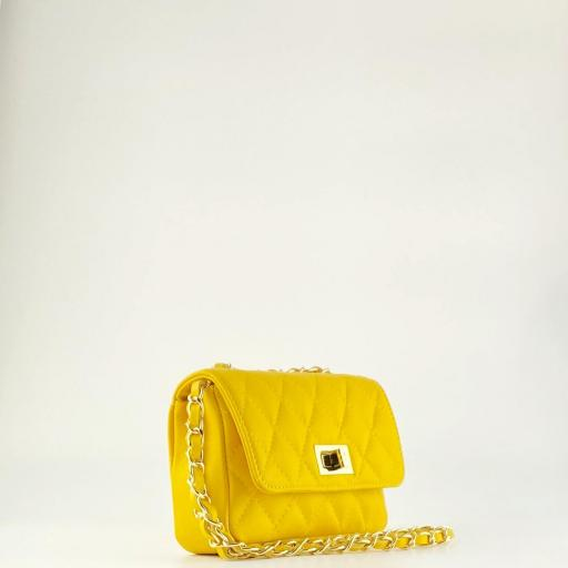 Bolso mini acolchado Amarillo [2]