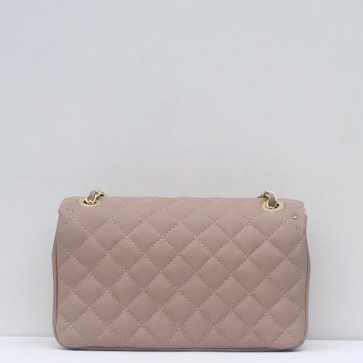 Bolso acolchado clasic rosa  [1]