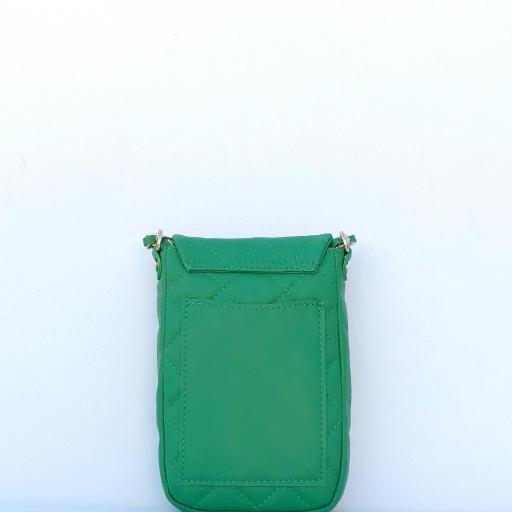 Funda de telefono piel verde [2]