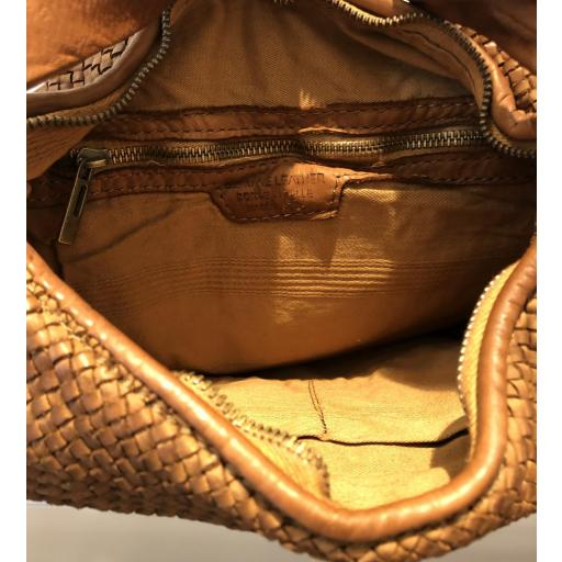 Bolso piel lavada trenzado light [3]
