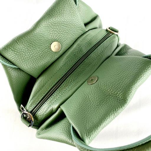 Bolso de mano aro verde [3]