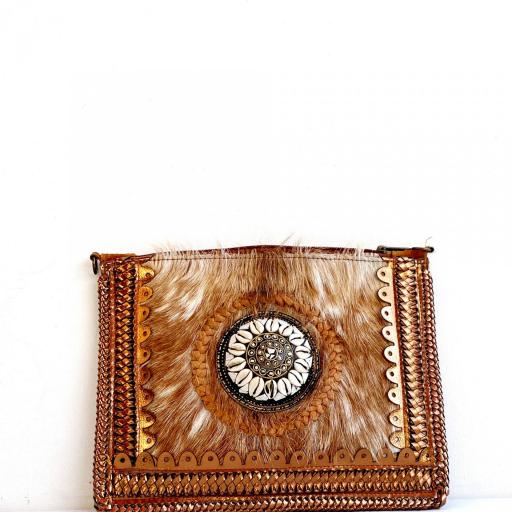 Cartera Zahara 1 marrón