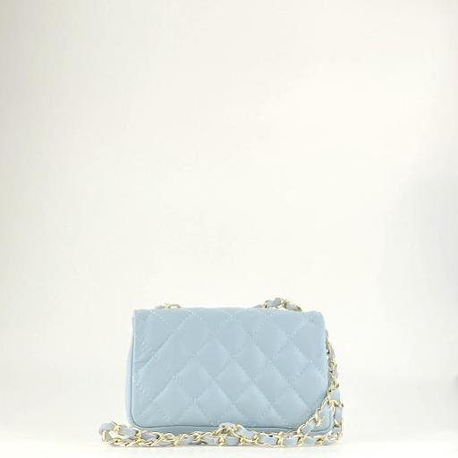 Bolso mini acolchado Azul [3]