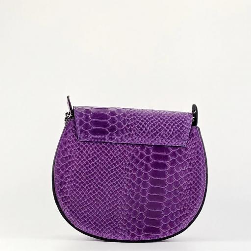 Bandolera midi anillas violeta [3]