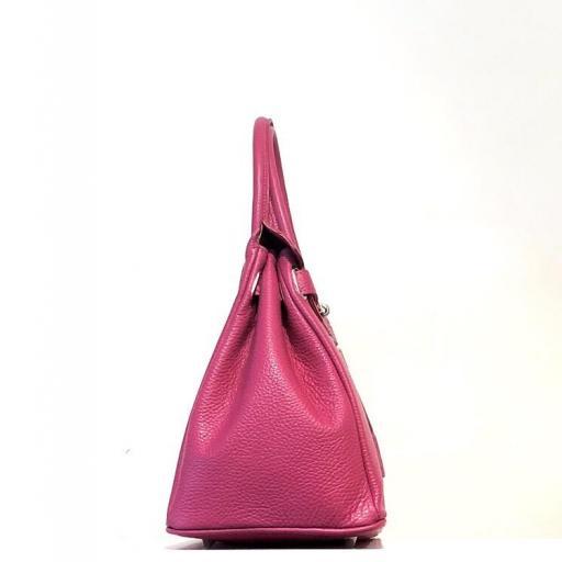 Handbag candado fucsia [1]