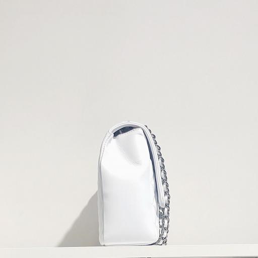 Bolso acolchado Maxi clasic blanco [3]