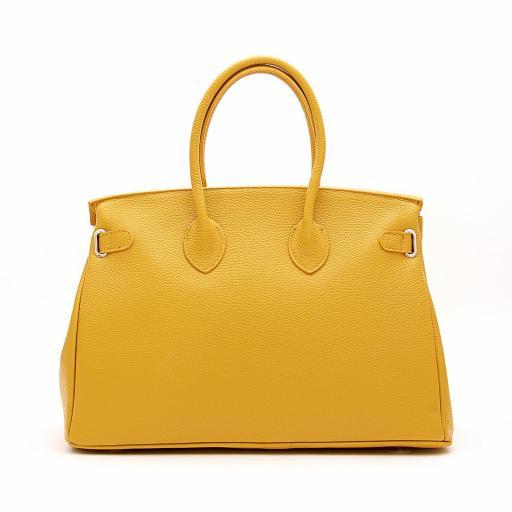 handbag candado mostaza [2]