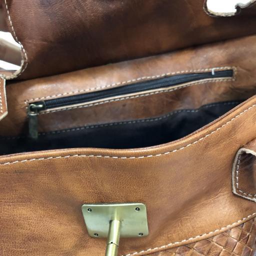 handbag candado cuero  midi [3]