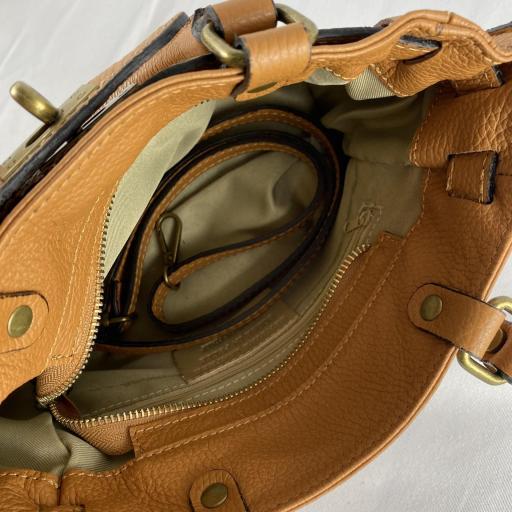 Handbag cremallera camel [3]