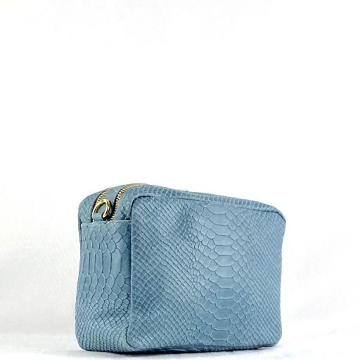 Bandolera basica doble azul coco [1]