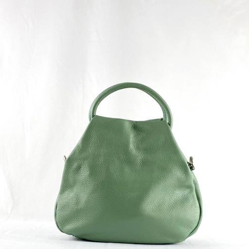 Bolso de mano aro verde [2]