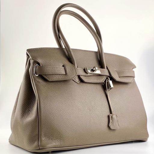 handbag candado tostado [1]