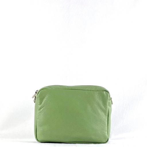 Bandolera basica doble verde [1]