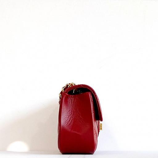 Bolso LUX mini  burdeos rojizo [2]