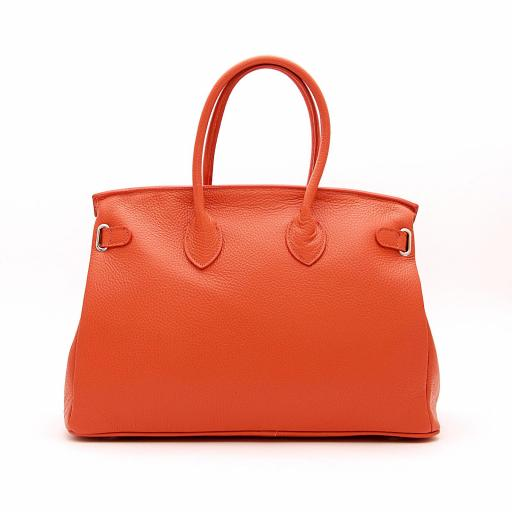Handbag candado naranja [1]