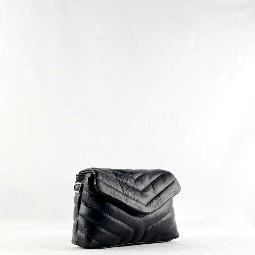 Bandolera mini acolch negro