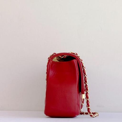 Bolso acolch Maxi rojo c. dorada [2]