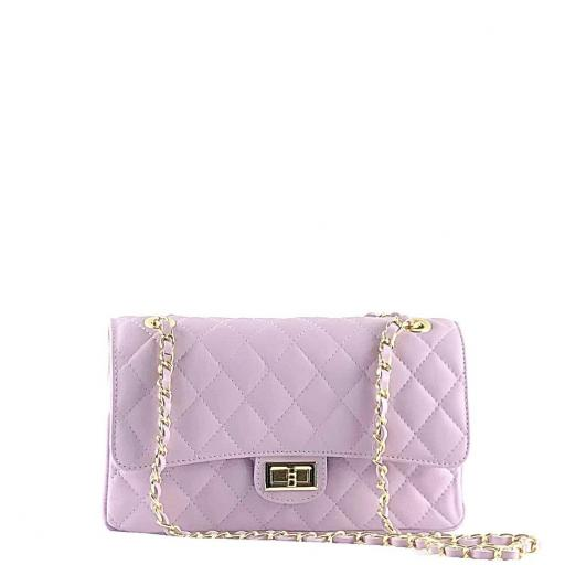 Bolso acolchado clasic lila