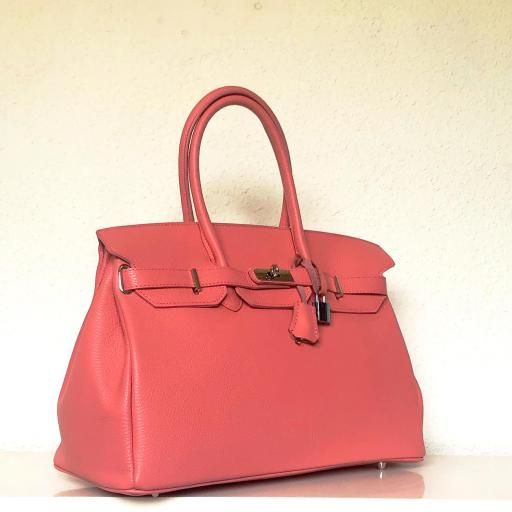 Handbag candado rosa chicle  [2]