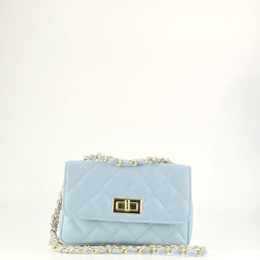 Bolso mini acolchado Azul [1]