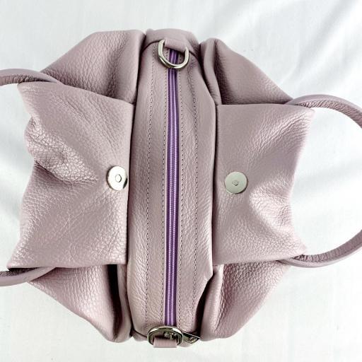Bolso de mano aro lila [2]