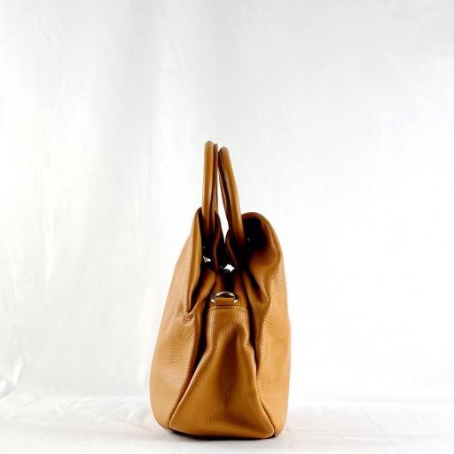 Bolso de mano aro camel [3]